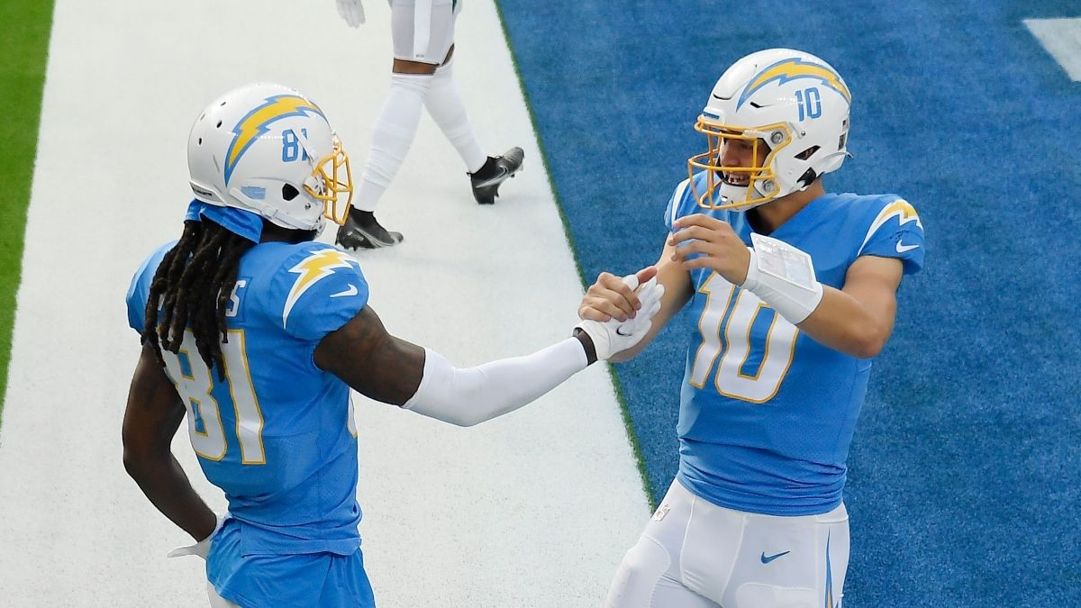 Chargers vs. Raiders Odds & Promos: Bet $1, Win $100 if There's a TD, More! article feature image
