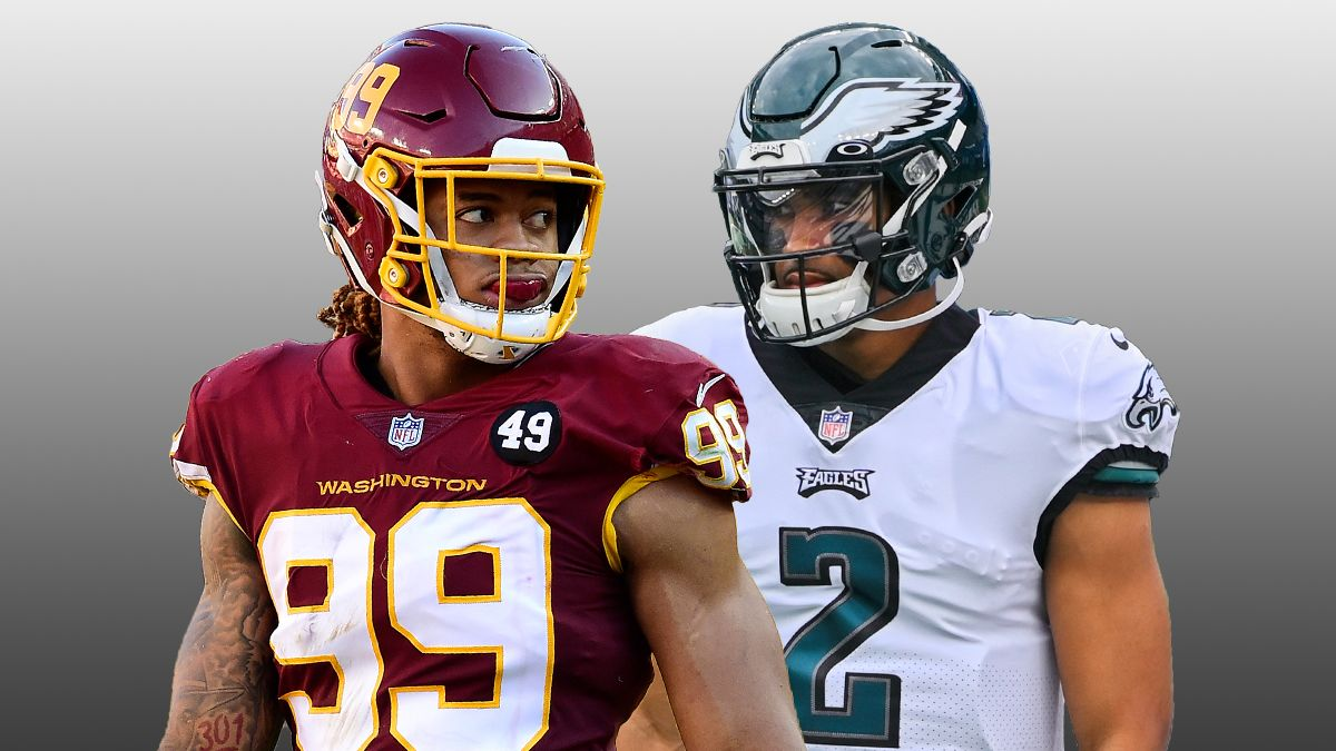 Eagles vs. Washington Odds & Picks: How To Bet This NFC East Showdown On Sunday Night Football article feature image