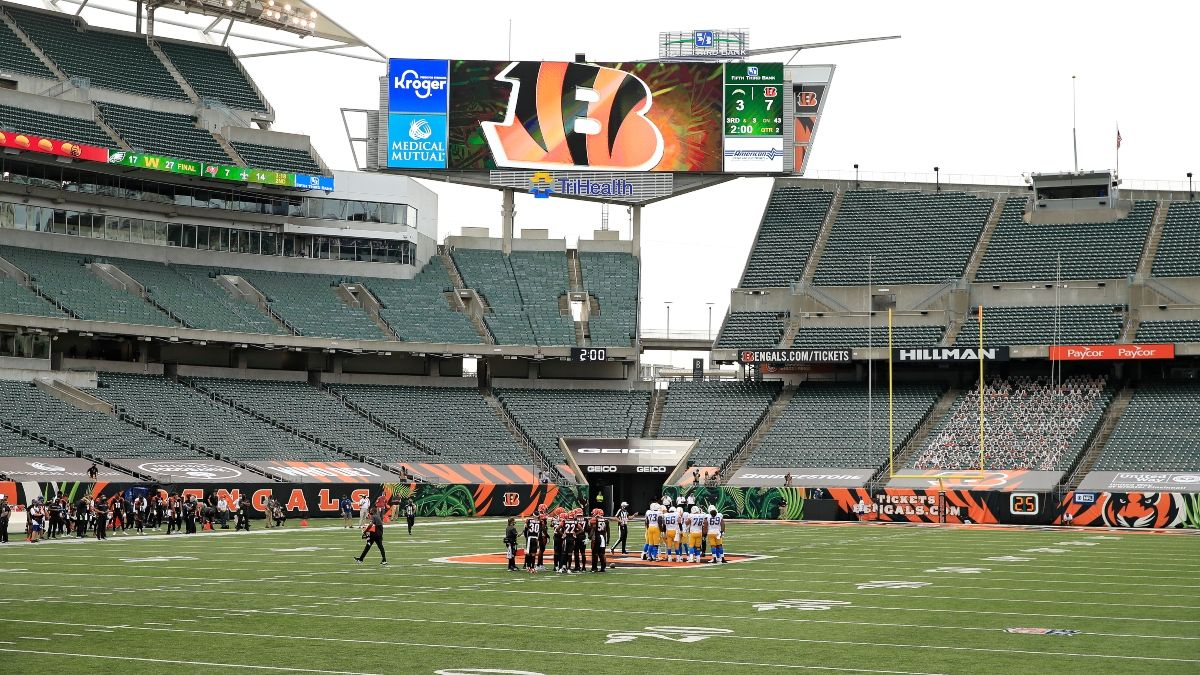 NFL Weather Report: Winds Moving Steelers vs. Bengals Odds for Monday Night Football article feature image