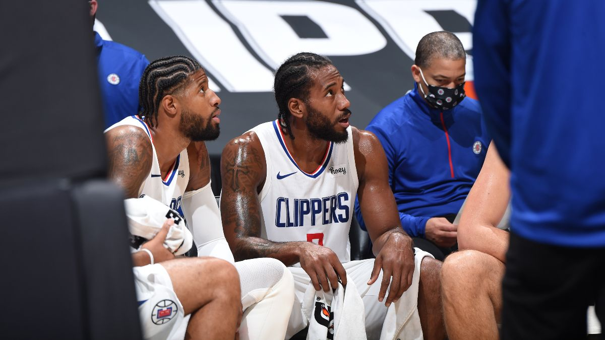 NBA Injury News & Starting Lineups (Jan. 29): Kawhi Leonard and Paul George Likely to Play, Donovan Mitchell Out Friday article feature image