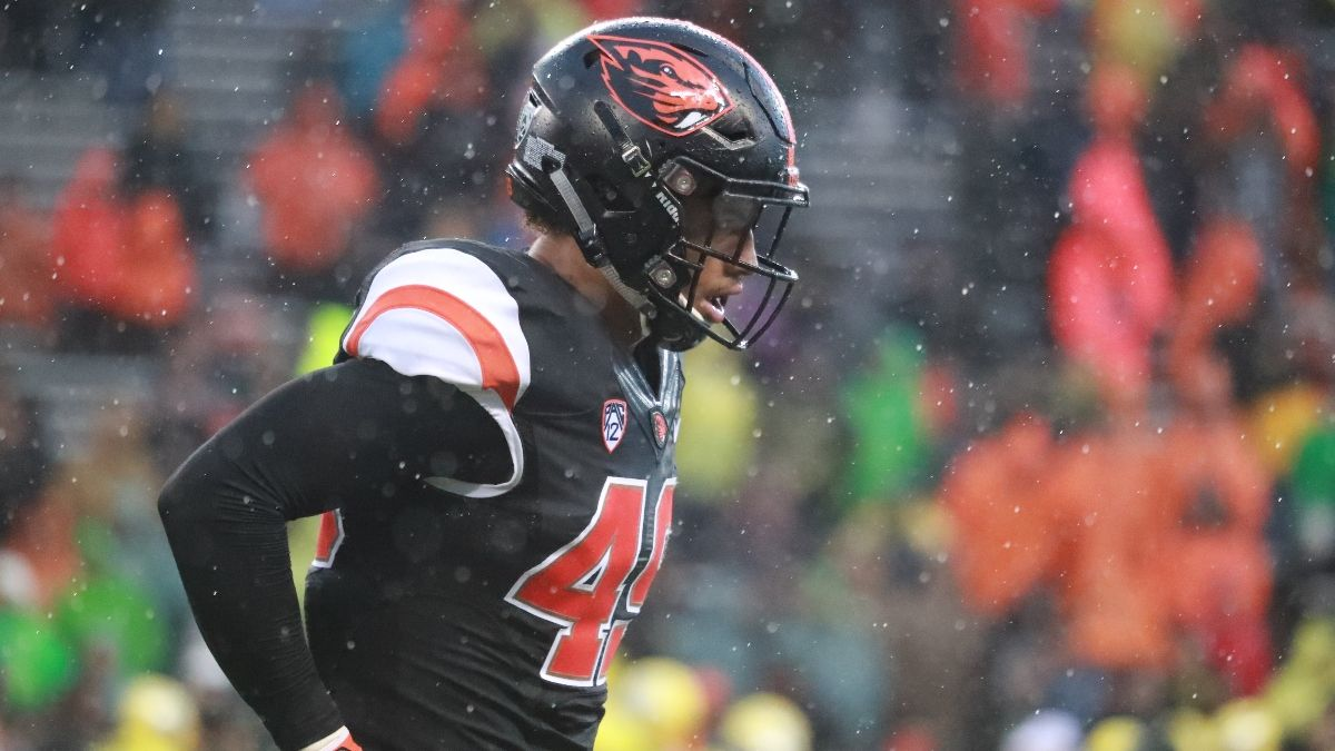 College Football Odds & Weather Forecast: Wind, Rain Expected for Arizona State vs. Oregon State (Saturday, Dec. 19) article feature image