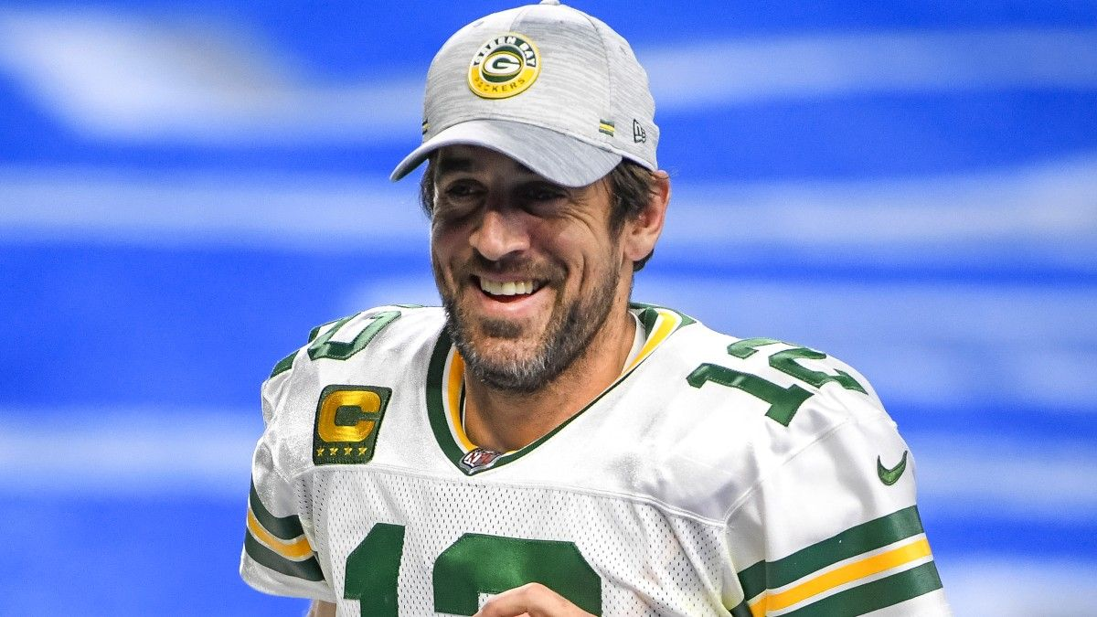 Packers vs. Panthers Saturday Promo: Bet $20, Win $125 if Aaron Rodgers Throws for at Least 1 Yard! article feature image
