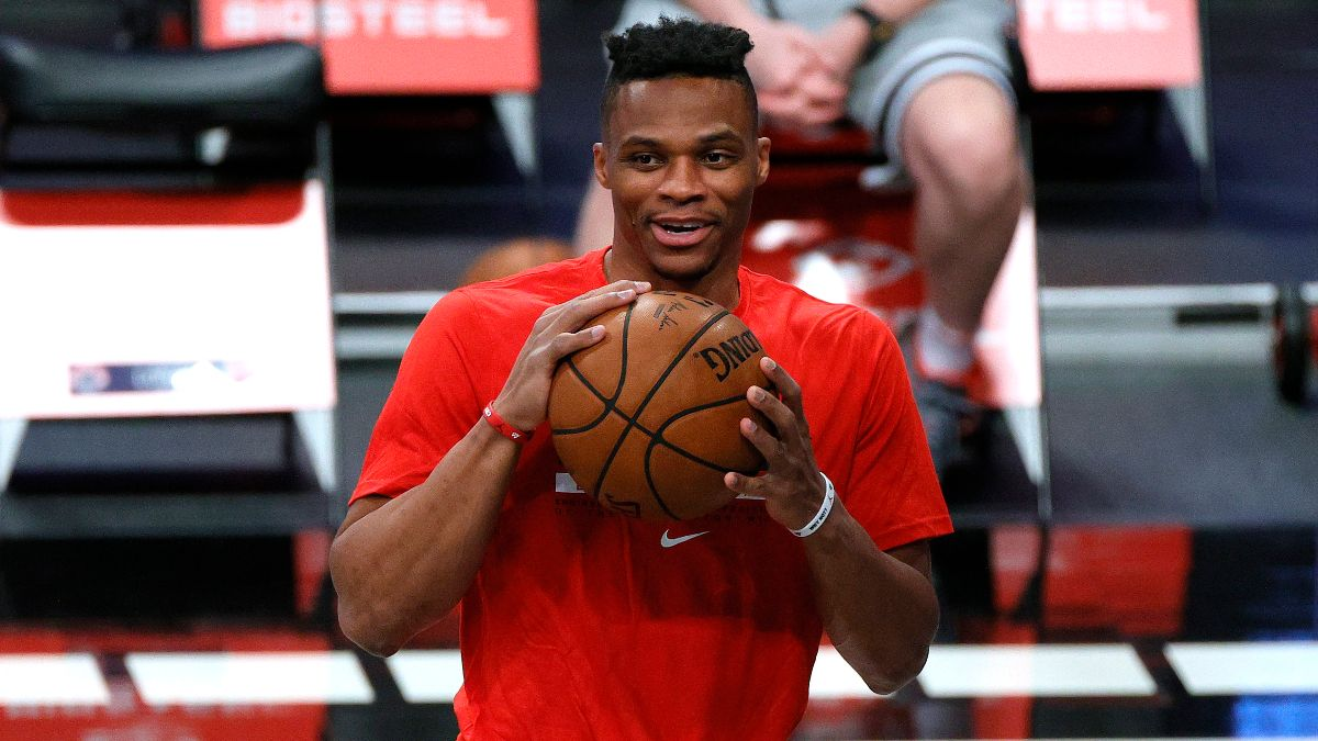 Washington Wizards 2021 NBA Win Total Odds & Pick: How Many Wins is Russell Westbrook Worth? article feature image