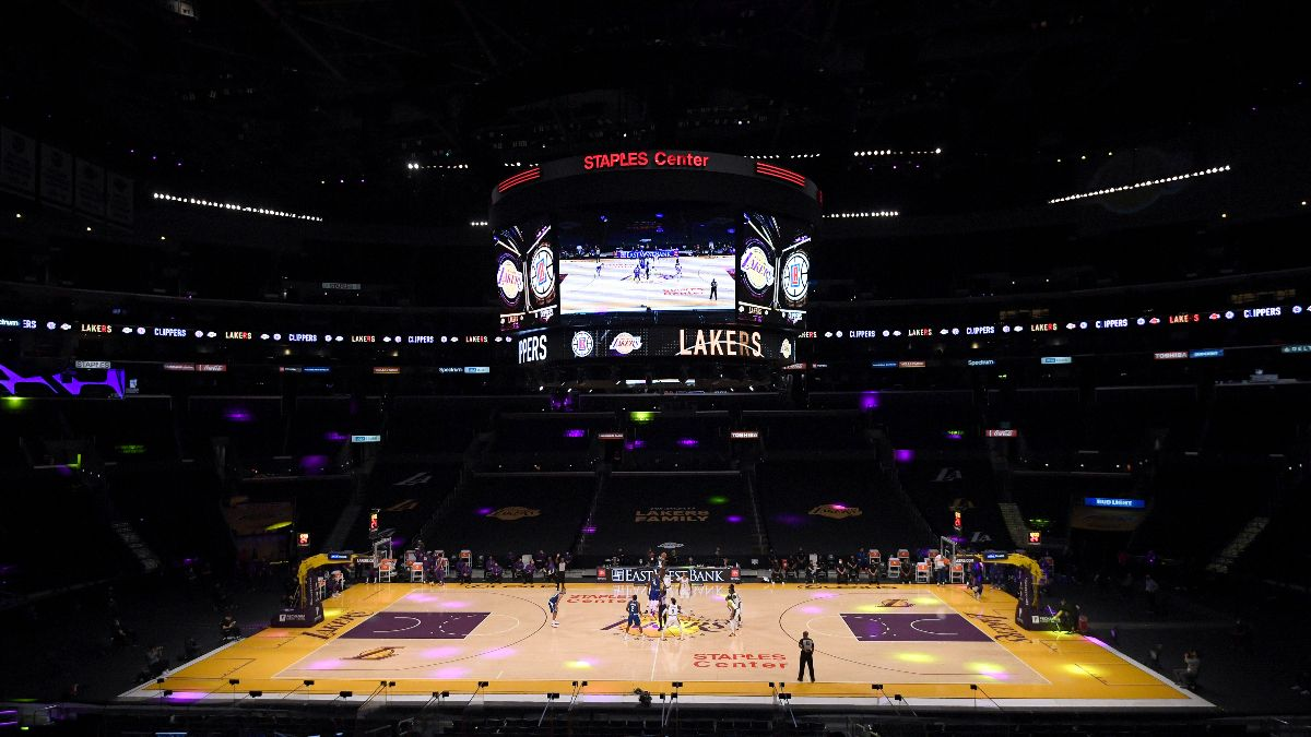NBA Betting Picks & Predictions: Our Favorite Bets for Warriors vs. Nets, Lakers vs. Clippers (Tuesday, Dec. 22) article feature image
