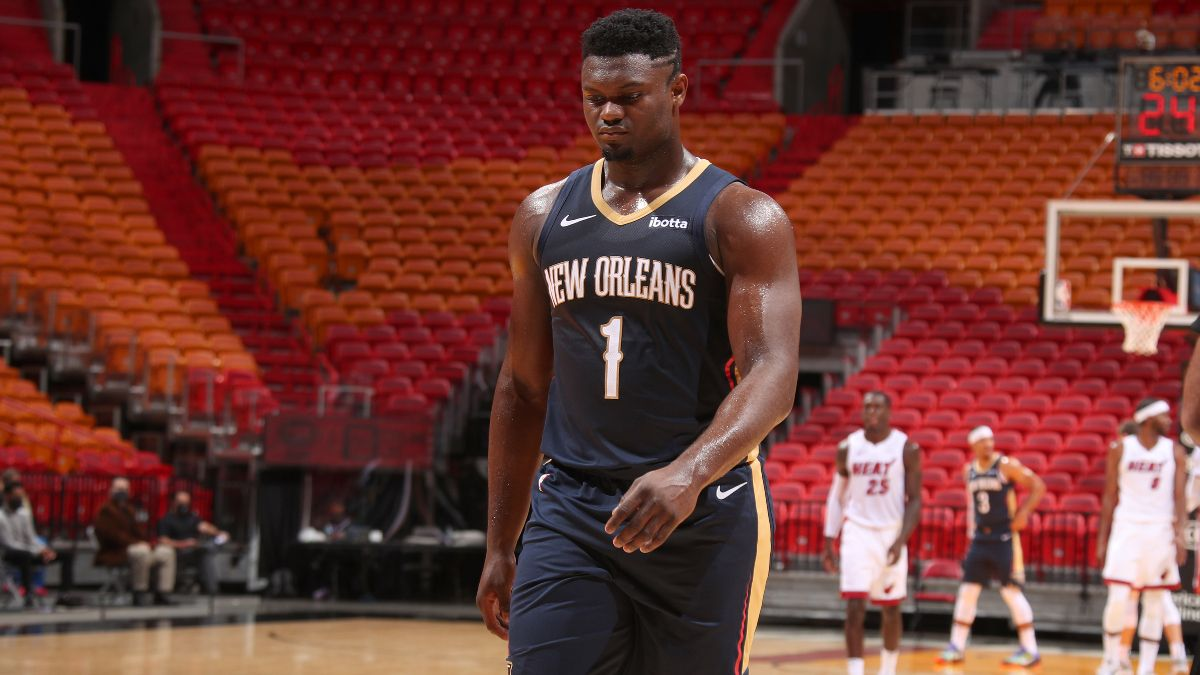 New Orleans Pelicans 2021 NBA Win Total Odds & Pick: Zion Williamson's Durability Creates Question Mark article feature image