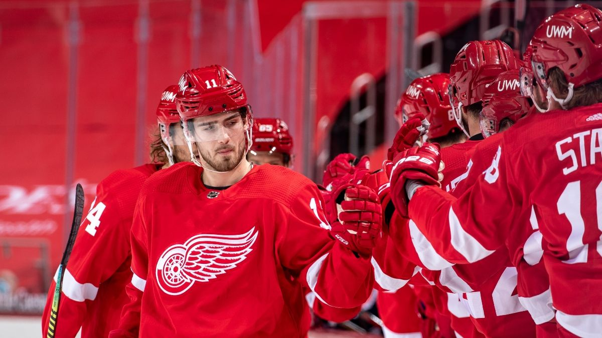 FOX Bet Michigan Promo: Win $50 if the Red Wings Score a Goal article feature image