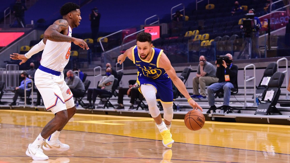 NBA Player Prop Bets & Picks for Saturday: Steph Curry is Dishing Out Dimes, His Teammate is Not (Jan. 23) article feature image