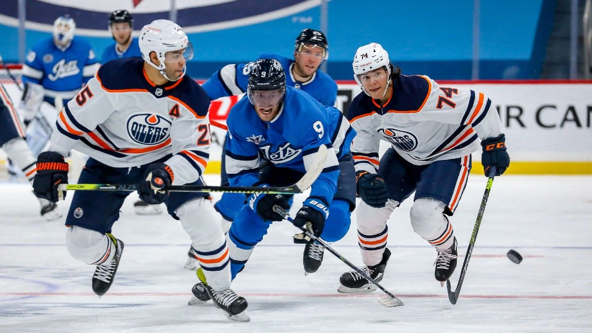 Jets vs. Oilers NHL Odds & Picks: Bet Winnipeg in Rematch of Thriller (Jan. 26) article feature image