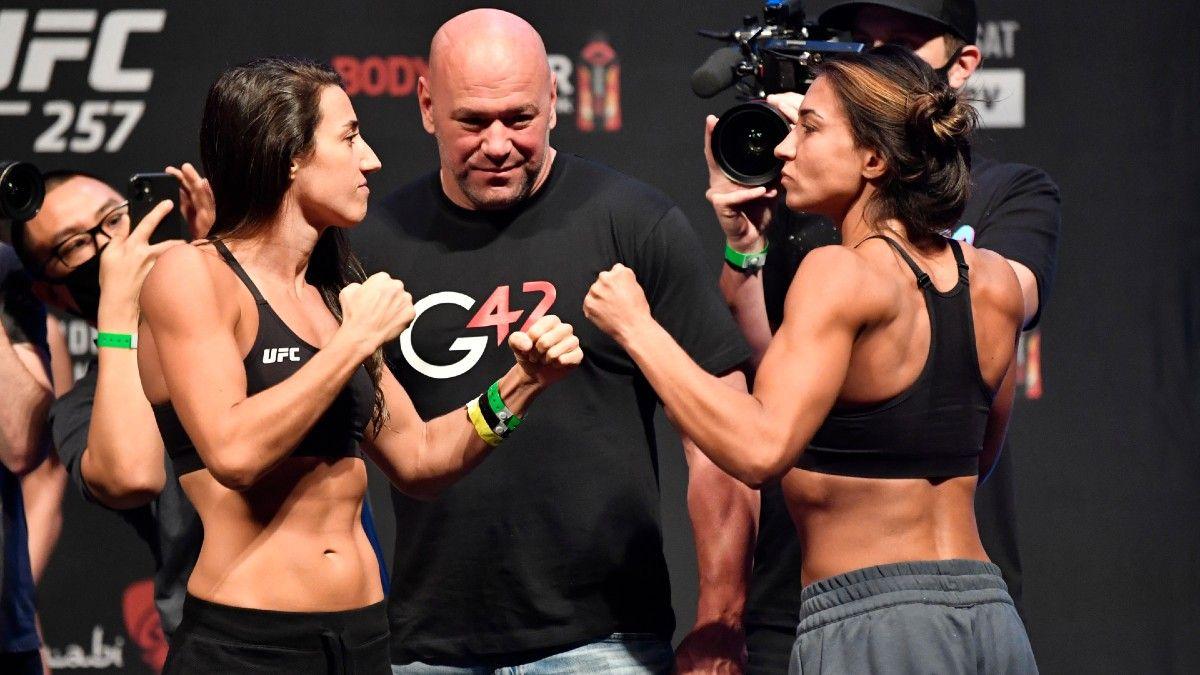 UFC 257 Odds & Picks: How to Bet Marina Rodriguez vs. Amanda Ribas (Saturday, Jan. 23) article feature image