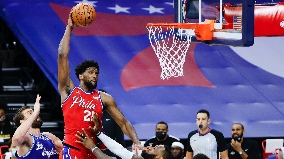 Sixers vs. Jazz Promo: Bet $10, Win $50 if Philly Scores a Point article feature image