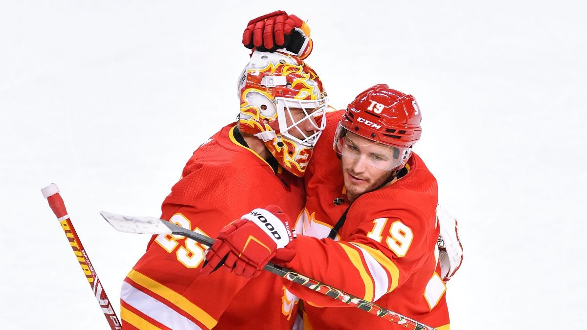 Flames vs. Maple Leafs NHL Odds & Picks: Back Host Calgary in North Division Showdown article feature image