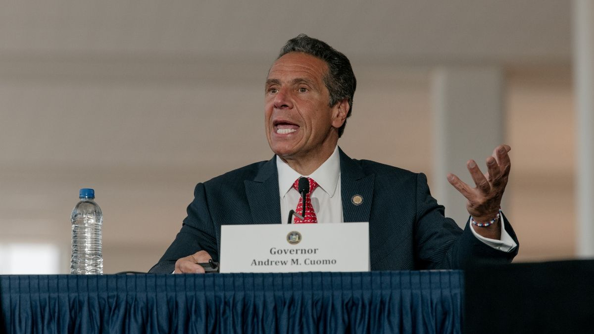Gov. Cuomo's Latest Statement on New York Online Sports Betting Could Boost Hopes article feature image