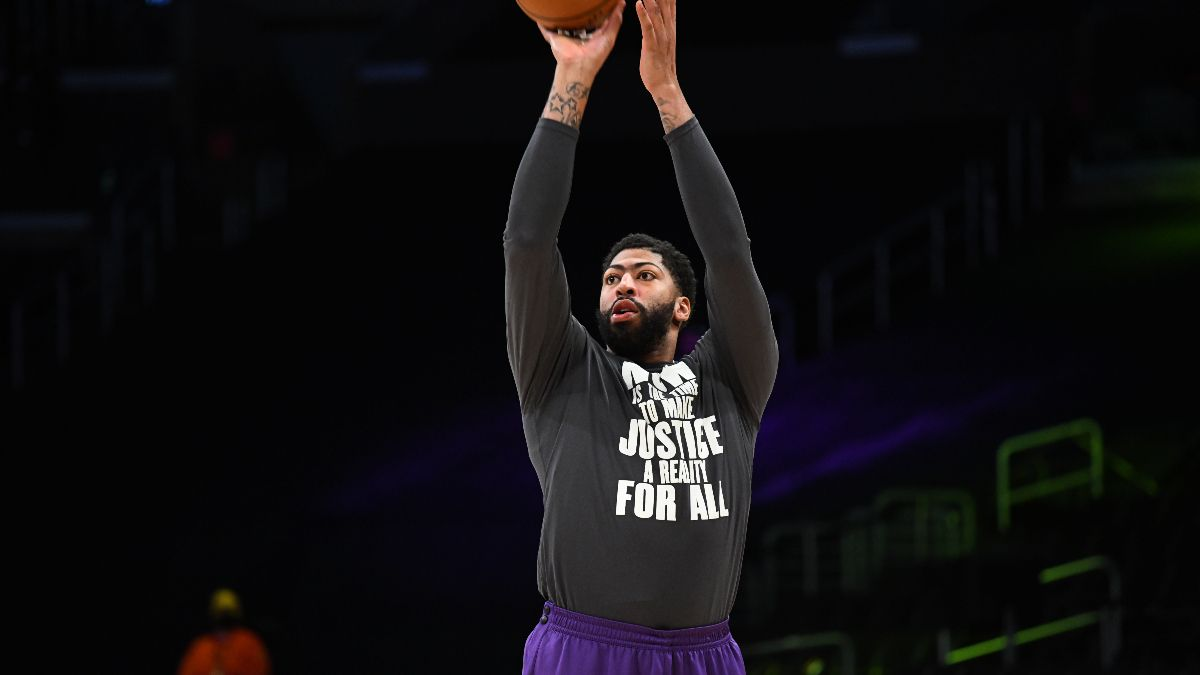 NBA Injury News & Starting Lineups (April 22): Anthony Davis, Joel Embiid Expected to Play Thursday article feature image