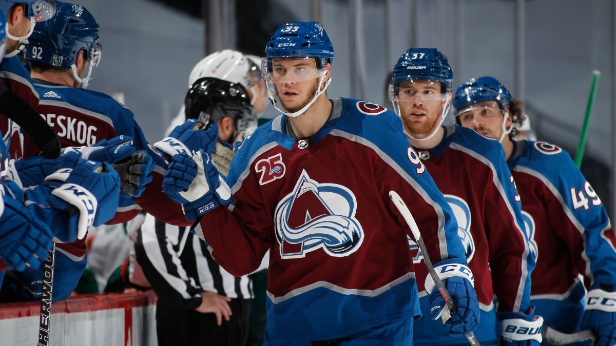 Avalanche vs. Knights Playoffs Odds, Promo: Bet $20, Win $200 if the Avs Score a Goal! article feature image
