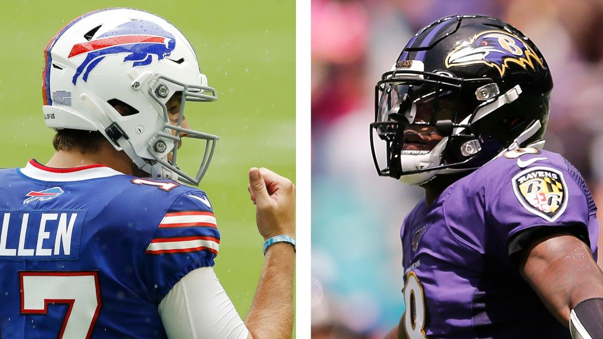 Ravens-Bills Promo: Bet $5, Win $125 on Either Team's Moneyline! article feature image