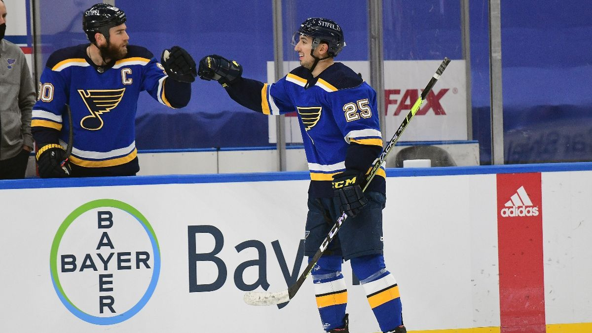 NHL Odds, Picks and Predictions: San Jose Sharks vs. St. Louis Blues (Wednesday, Jan. 20) article feature image