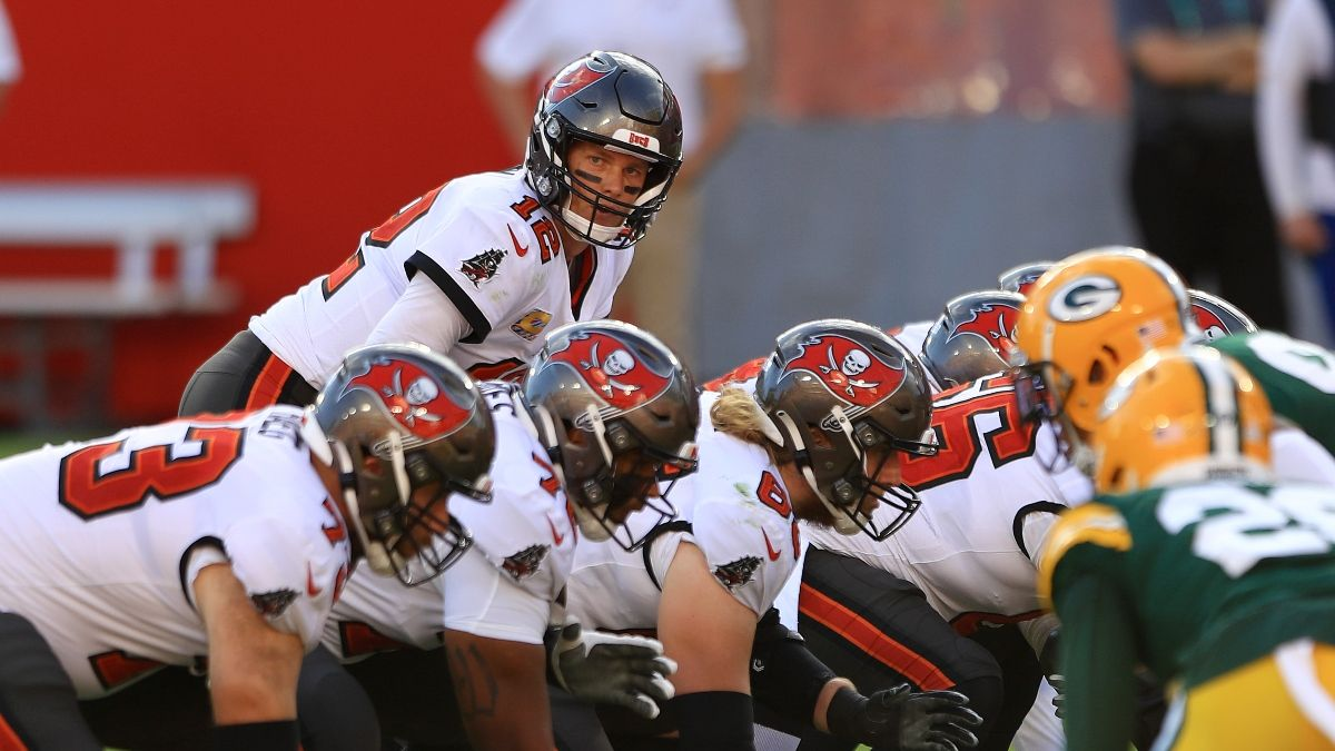 Buccaneers-Packers Promo: Bet $5, Win $125 on Either Team's Moneyline! article feature image