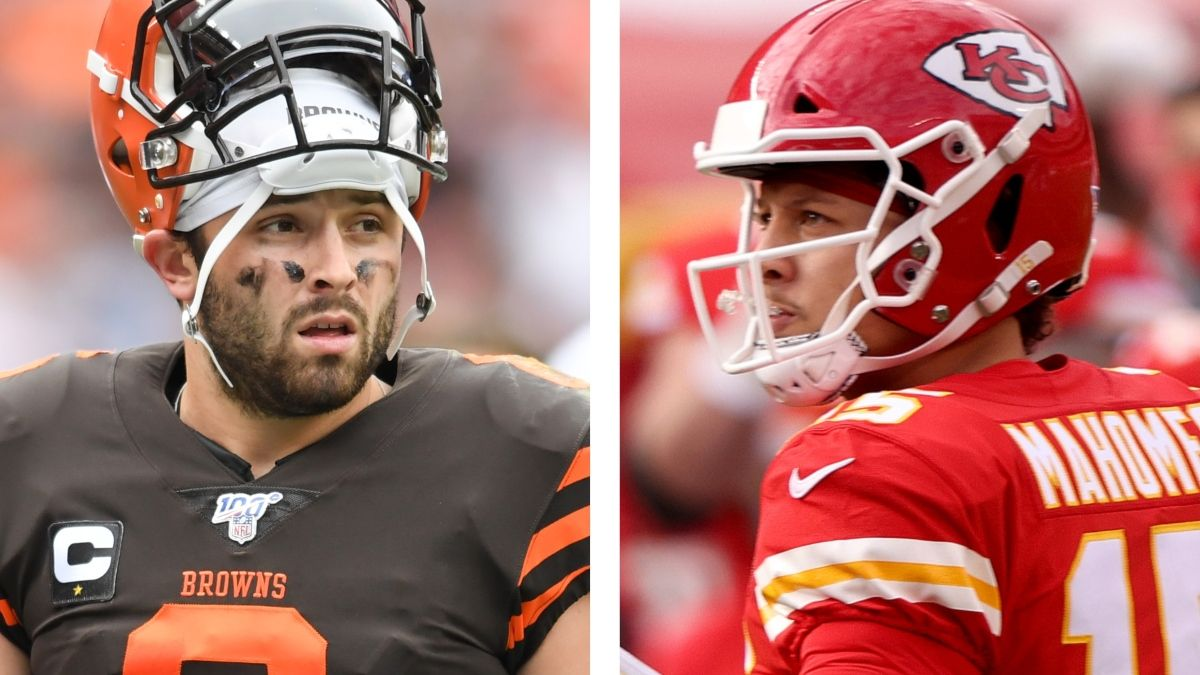 Browns vs. Chiefs Odds & Playoff Schedule: Opening Spread, Total & More Divisional Round Details article feature image
