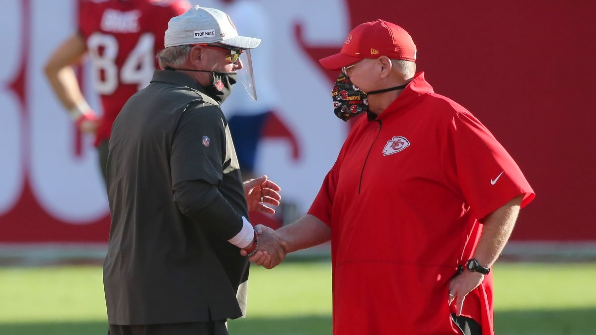 Super Bowl 55 ATS Coaching Trends: How Andy Reid, Bruce Arians Historically Perform Off a Bye article feature image