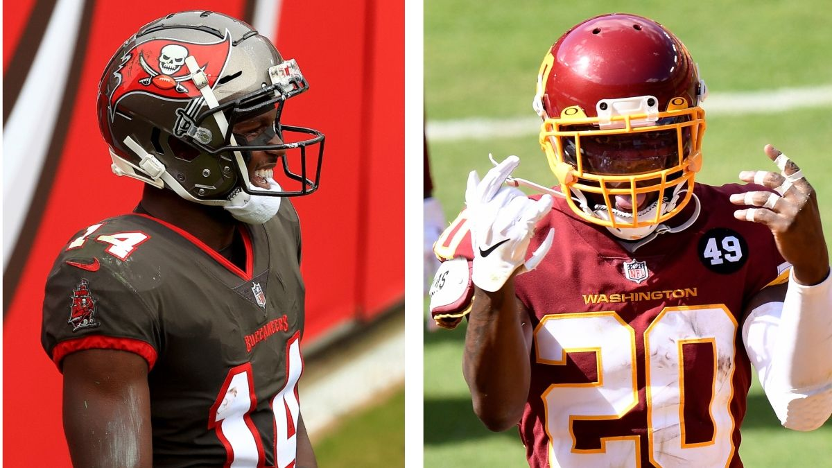 Buccaneers vs. Washington WR/CB Matchups: Chris Godwin Gets Upgrade In Wild Card Round article feature image
