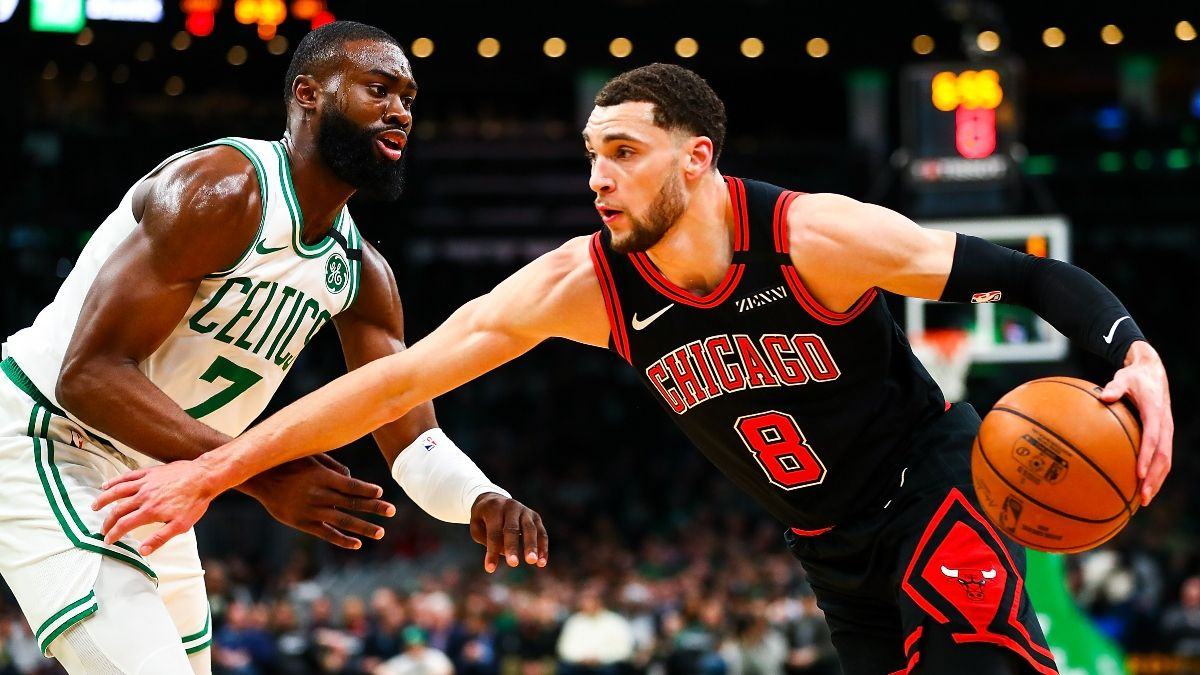 NBA Odds & Pick for Celtics vs. Bulls: Sharps, Betting Systems Agree on Monday's Spread (Jan. 25) article feature image