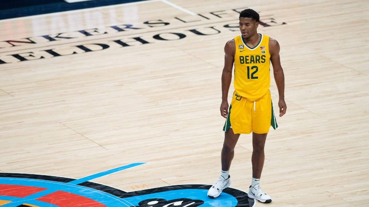 Big 12 College Basketball Futures Betting: Can Texas or Kansas Catch Baylor? article feature image