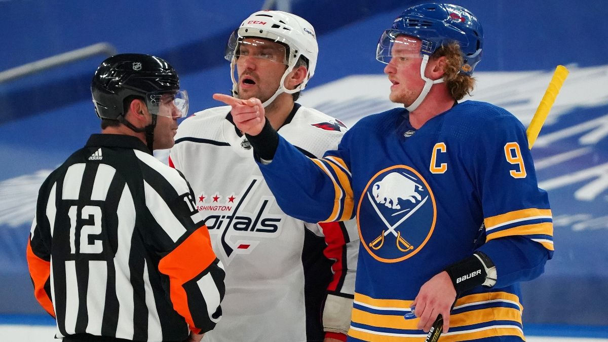 NHL Betting Odds, Picks & Predictions: Capitals vs. Sabres (Jan. 15) article feature image