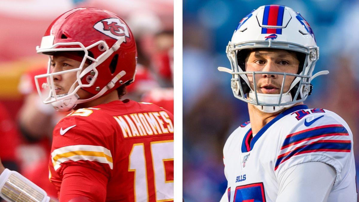 Chiefs vs. Bills Odds: Latest AFC Championship Lines, Projections With vs. Without Patrick Mahomes, More article feature image