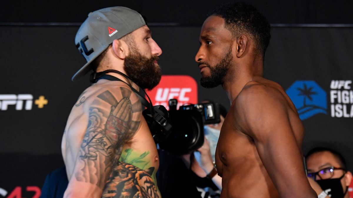 UFC Fight Night Odds & Picks: How to Bet Michael Chiesa vs. Neil Magny (Wednesday, Jan. 20) article feature image