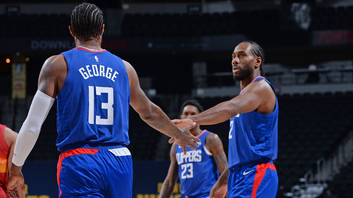 Friday NBA Betting Odds & Picks: Our Staff's Favorite Plays for Hawks vs. Nets & Clippers vs. Jazz (Jan. 1) article feature image
