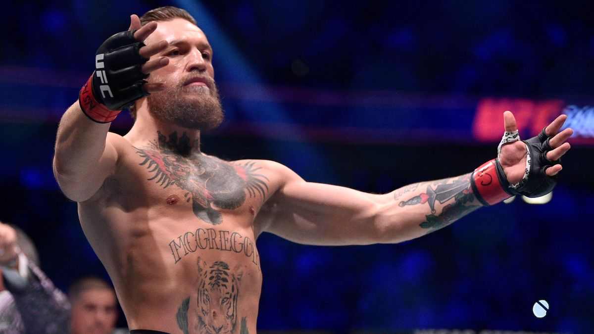 Conor McGregor vs. Dustin Poirier Props: 'Mystic Mac' Predicts First-Round Knockout at UFC 257 article feature image
