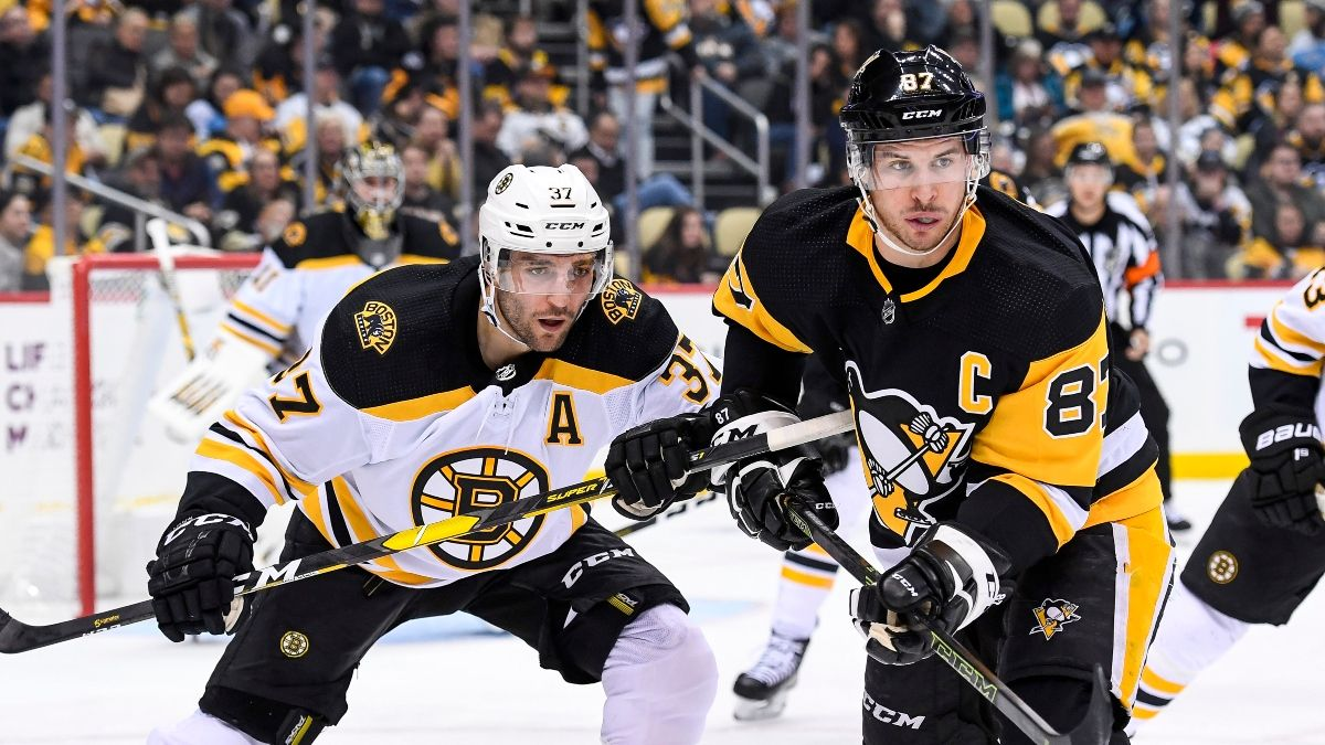 NHL Odds & Sharp Betting Pick: Penguins vs. Bruins Aligning Pros, Experts (Jan. 26) article feature image
