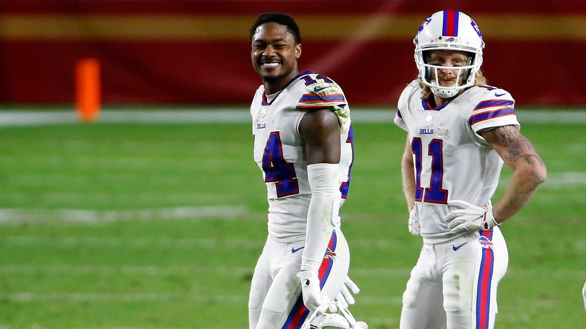 Bills WRs Stefon Diggs & Cole Beasley Active For Saturday's Wild Card Game vs. Colts article feature image