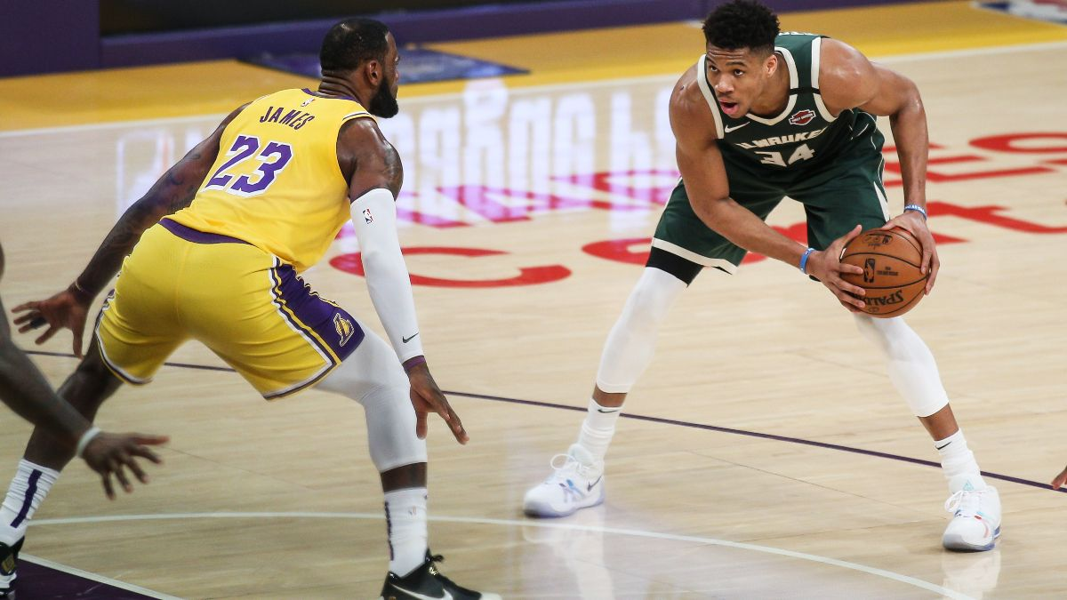 NBA Player Prop Bets & Picks: Lakers Defense Will Hold Giannis Antetokounmpo in Check (Thursday, Jan. 21) article feature image