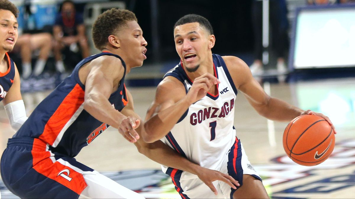 BYU vs. Gonzaga College Basketball Odds & Picks: PRO Systems Shows Edge Toward The Under (Tuesday, March 9) article feature image