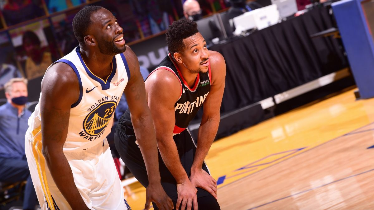 NBA Best Bets: Our Staff's Favorite Picks for Jazz vs. Spurs and Trail Blazers vs. Warriors (Sunday, Jan. 3) article feature image