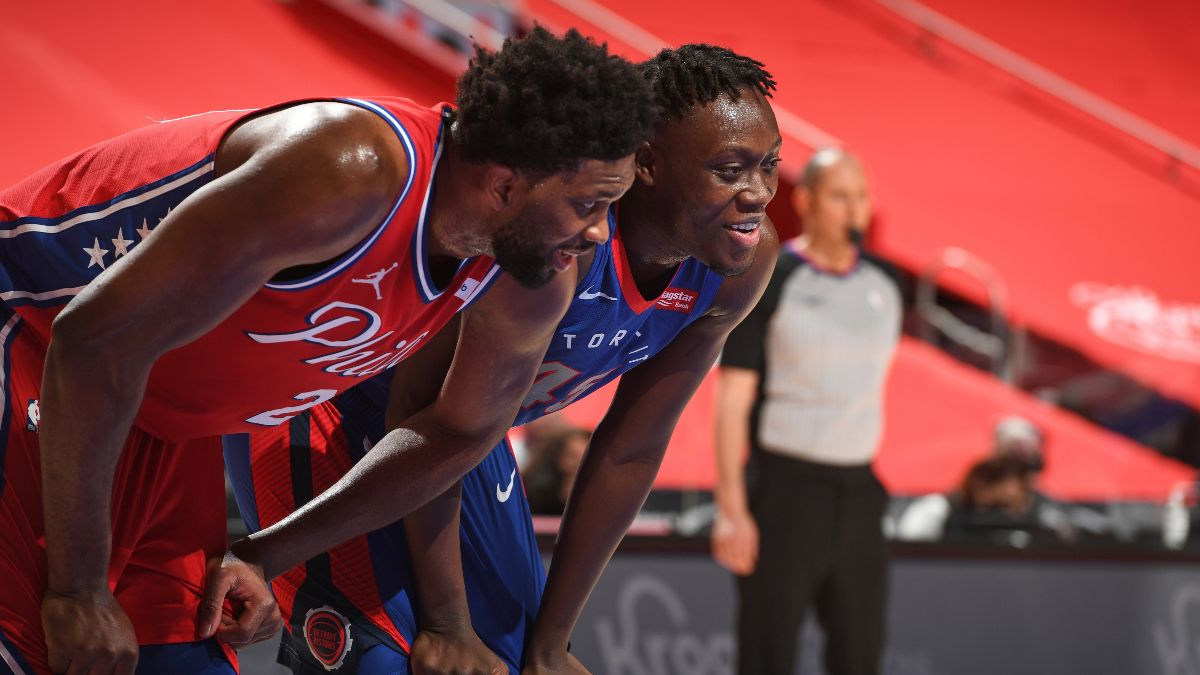 76ers vs. Pistons NBA Odds & Picks: Wait for News on Joel Embiid's Status (Jan. 25) article feature image