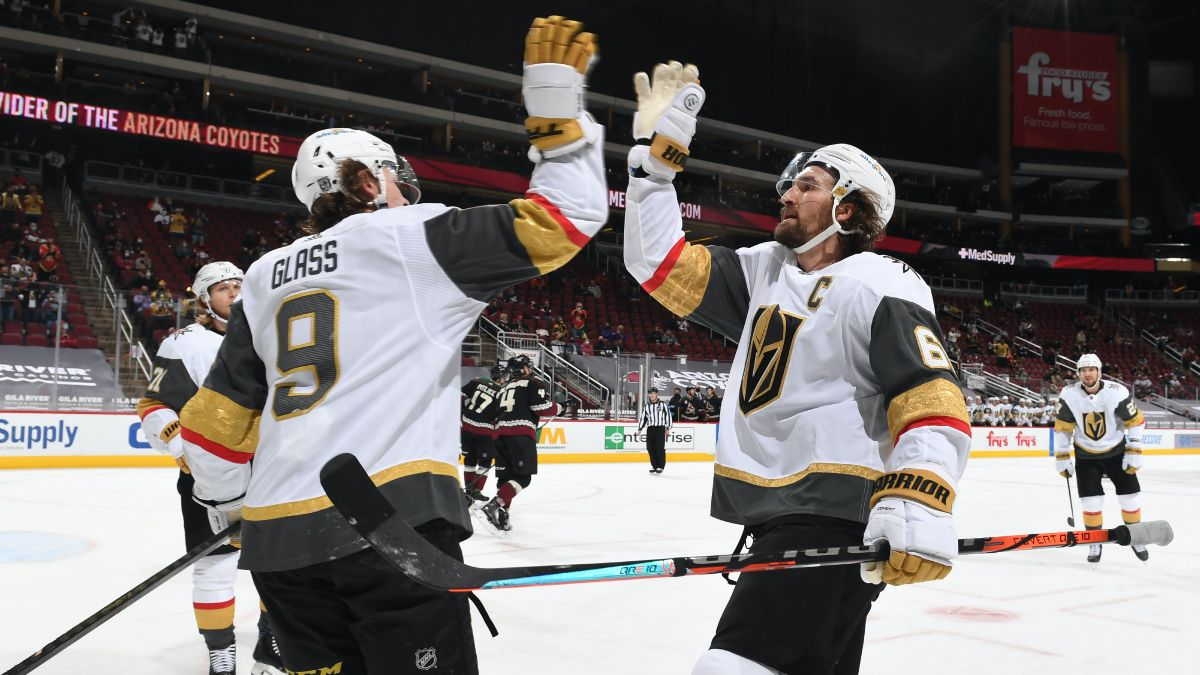 Sunday NHL Odds & Pick for Golden Knights vs. Coyotes: Back Vegas to Rebound With Victory (Jan. 24) article feature image
