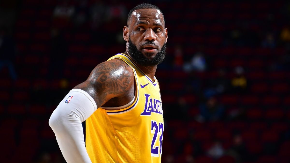 Pelicans vs. Lakers Odds & Picks: How to Back LeBron & Co. on Friday Night article feature image