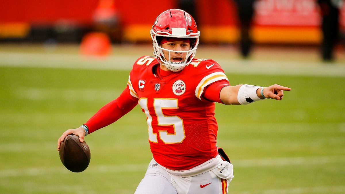 Chiefs-Bills Promo: Win $125 if Patrick Mahomes Throws for 25+ Yards! article feature image