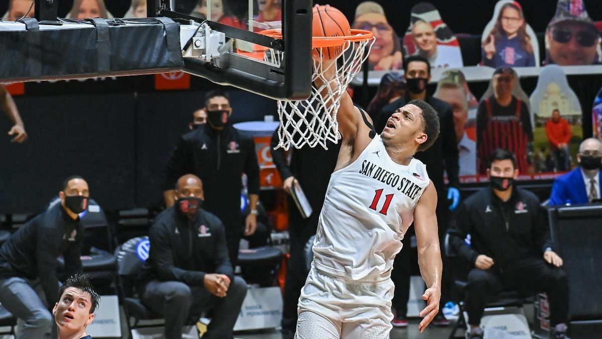 Odds & Pick for San Diego State vs. Utah State Basketball: Expect Low-Scoring Affair Between Elite Defenses article feature image