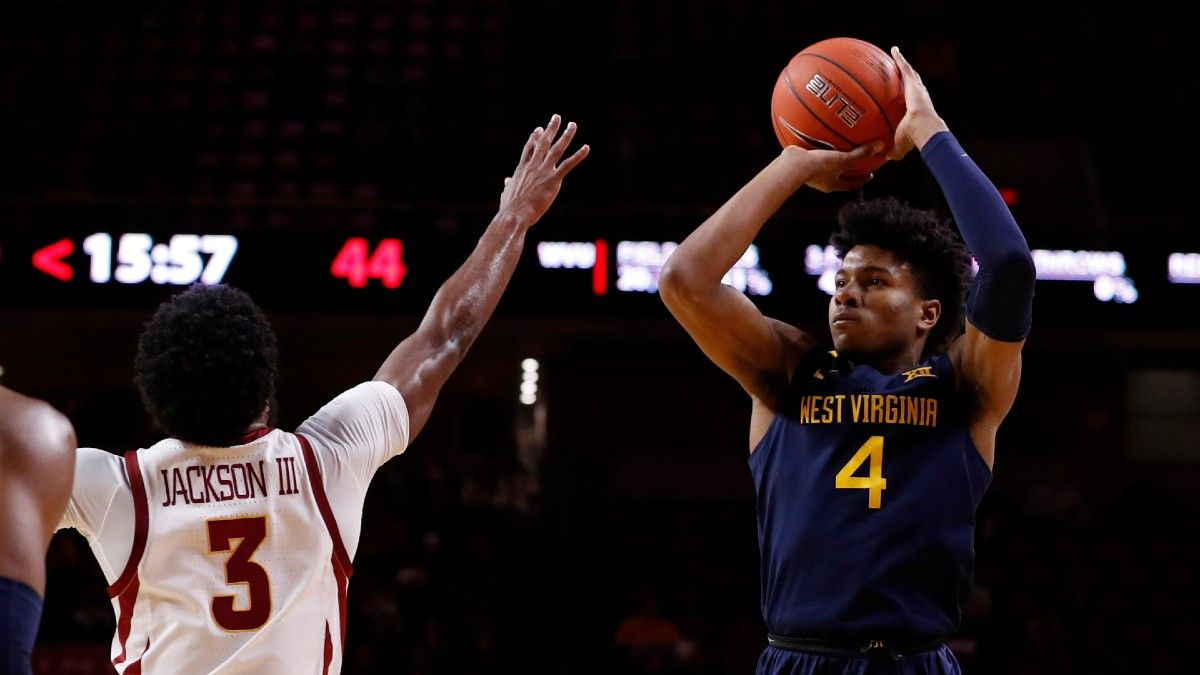 Saturday College Basketball Betting Odds & Pick for West Virginia vs. Kansas State (Jan. 23) article feature image