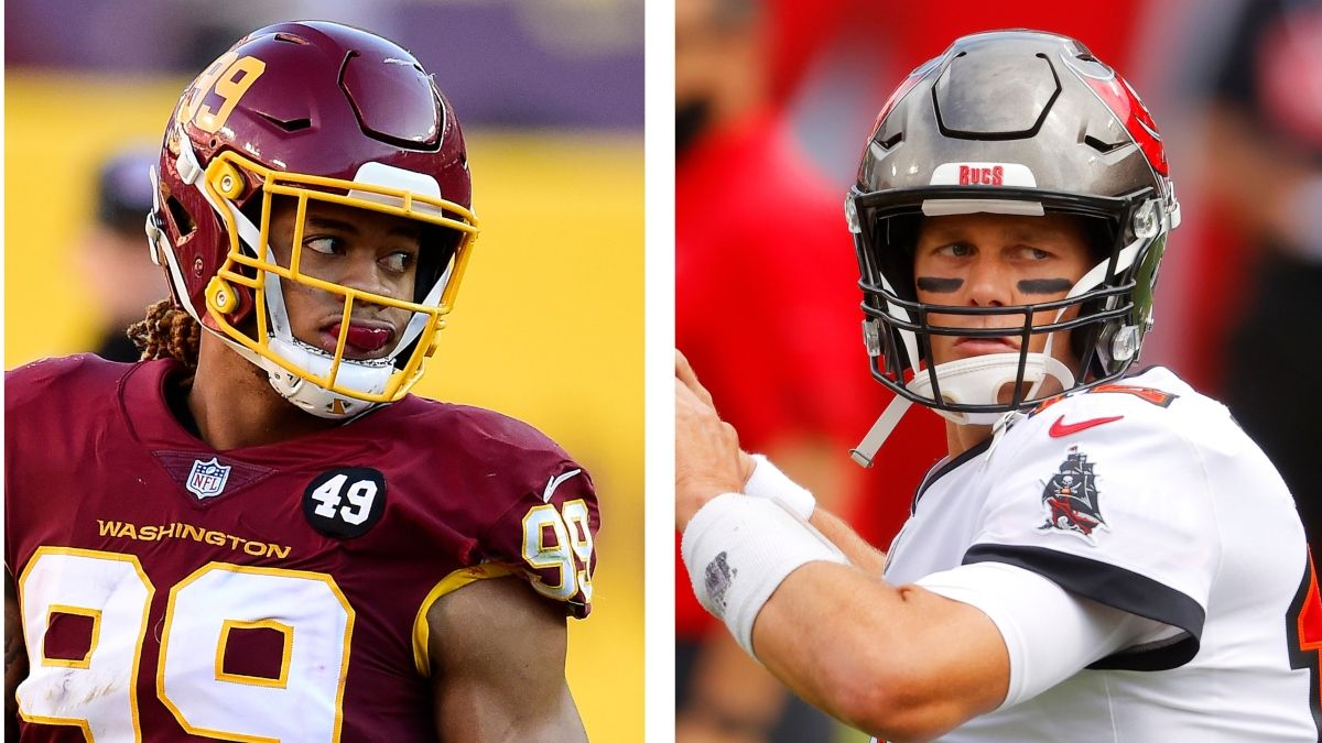 NFL Playoff Odds & Picks For Buccaneers vs. Washington: Don't Overthink This Spread article feature image