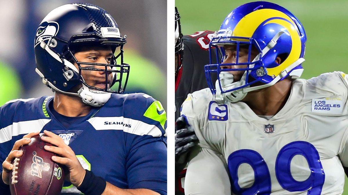 NFL Playoff Odds & Picks For Rams vs. Seahawks: Bet On A Low-Scoring Wild Card Matchup article feature image
