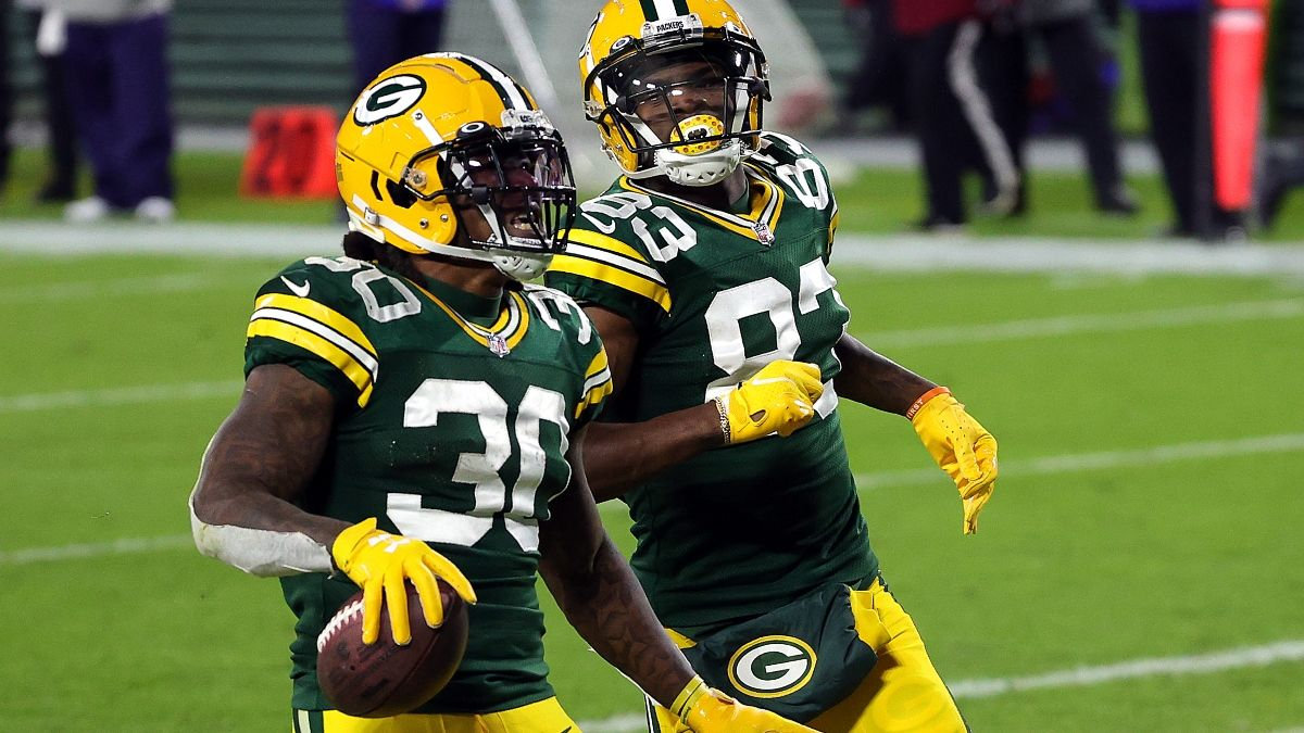 Packers-Rams Promo: Bet $5, Win $125 on the Packers Moneyline! article feature image