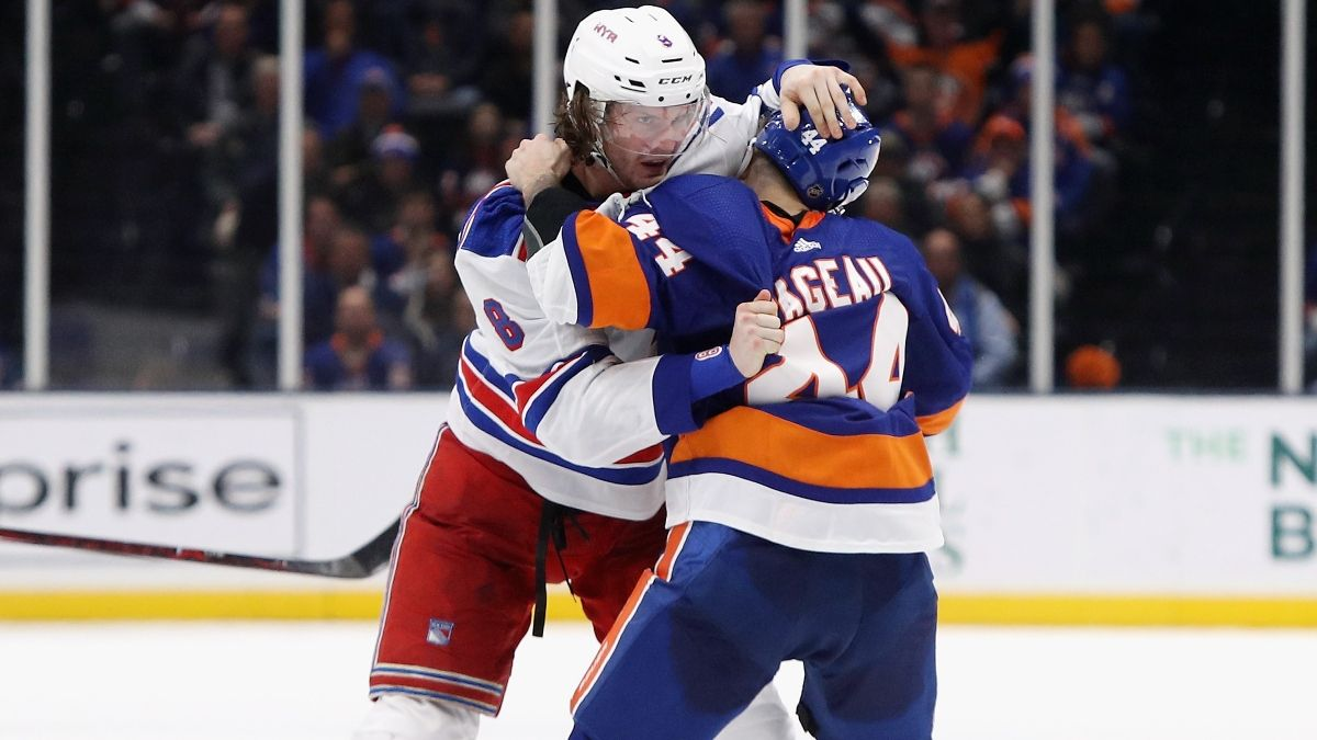 NHL Odds & Picks for Islanders vs. Rangers: The Battle for New York Is a Pick'Em (Thursday, Jan. 14) article feature image
