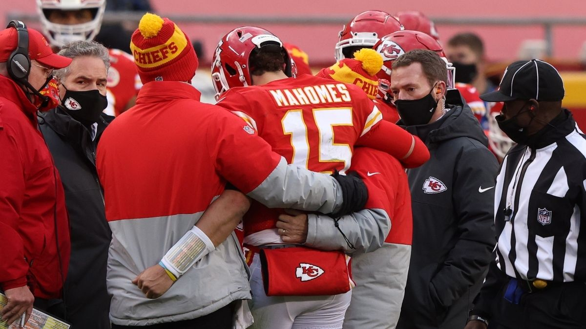 Patrick Mahomes Out With Concussion: Betting Market Reacts to His Absence article feature image