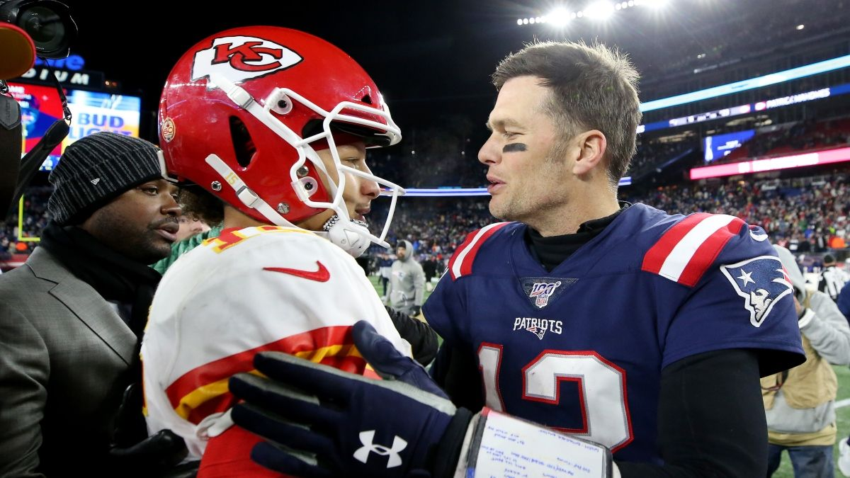 The Betting History of Patrick Mahomes vs. Tom Brady: ATS & Total Results From Their First 4 Meetings article feature image