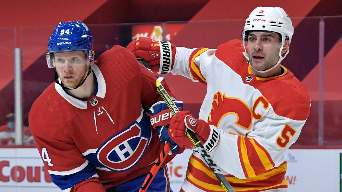 Flames vs. Canadiens Odds & Picks: How to Bet Saturday's North Division Showdown article feature image