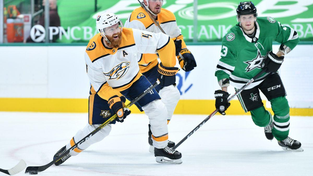 Sunday NHL Odds & Picks for Predators vs. Stars: Bet Nashville In Low-Scoring Affair (Jan. 24) article feature image